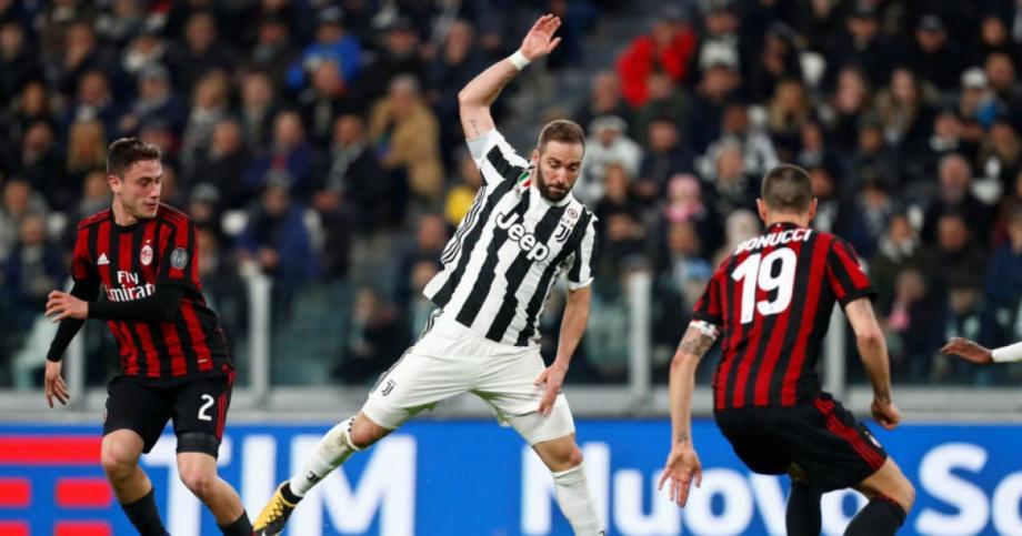 Футбол Ювентус - Милан 12 июня смотреть