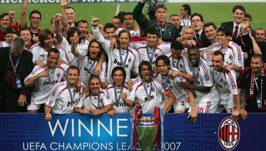 Милан манчестер юнайтед лига чемпионов 2007