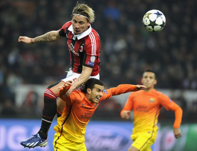 Philippe+Mexes+AC+Milan+v+Barcelona