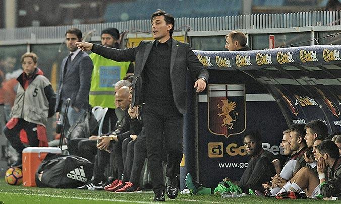Монтелла: «Настоящий Милан все могли видеть в прошлых матчах»
